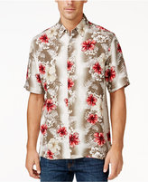 Tasso Elba Men's Tropical Print Shirt, Only at Macy's