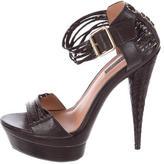 Rachel Zoe Multistrap Platform Sandals