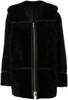 Sylvie Schimmel shearling hood coat