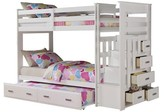 ACME Furniture Allentown Kids Bunk Bed - White(Twin/Twin) - Acme