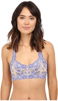 Free People Cross Dye Galoon Lace Racerback Bra OB409418