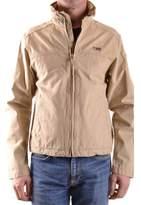 Napapijri Men's Beige Cotton Outerwear Jacket.