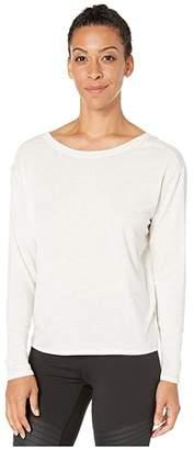 Lole Elisia Long Sleeve (Black Heather) Women's Clothing