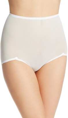 Rago Women's V Leg Light Weight Control Brief Panty