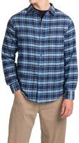Jachs Plaid Flannel Shirt - Long Sleeve (For Men)