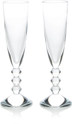 Baccarat Set-Of-Two Vega Champagne Flutes