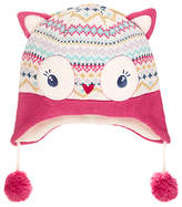 John Lewis Children's Novelty Owl Trapper Hat, Cream