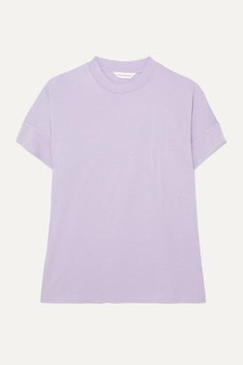 KING & TUCKFIELD Merino Wool T-shirt - Lilac