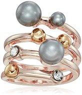 T Tahari Pearl Wrap Ring