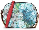Gucci Blue GG Blooms Supreme Canvas Crossbody Bag