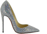 Christian Louboutin SO Kate 120 Glitter Disco Ball Pumps