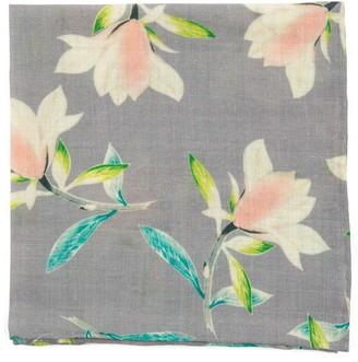 MUMU Lily Showers Soft Steel Pocket Square