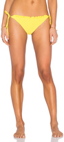Shoshanna Ruffle String Bikini Bottom