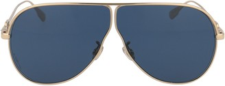Christian Dior Oversize Aviator Sunglasses