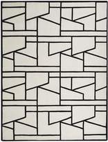 Global Views Zigzag Wool Rug