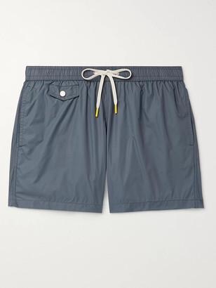 Hartford Slim-Fit Mid-Length Swim Shorts - Men - Blue