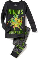 Old Navy 2-Piece Ninja Turtles Graphic Sleep Set for Toddler & Baby