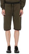 Public School Men's Tryan Fleece Shorts-GREEN
