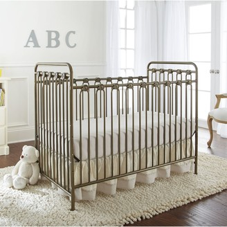 L.A. Baby Napa 3-in-1 Convertible Full Sized Metal Crib