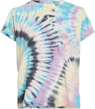 Mother The Boxy Goodie Goodie Tie-Dye T-Shirt