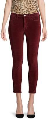 Frame Le Velveteen Skinny Jeans