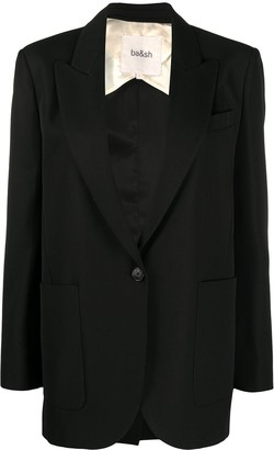 BA&SH Bird single-breasted blazer