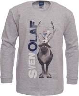 Disney Boys Frozen Olaf T-shirt | Olaf L/S Tshirt | Official | SVEN & OLAF | Youth | 5-6 |