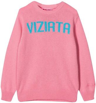 MC2 Saint Barth Pink Sweater