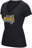 Reebok Women's Boston Bruins Laced Up T-Shirt