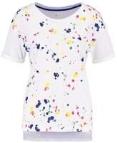 Benetton Print Tshirt white