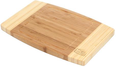 "Chicago Cutlery Woodworks 12"" x 8"" Bamboo Cutting Board"