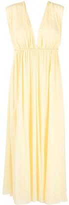 Emilio Pucci Georgette kimono-sleeve dress