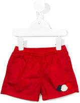 Moncler appliqué swim shorts - kids - Polyamide/Polyimide - 3-6 mth