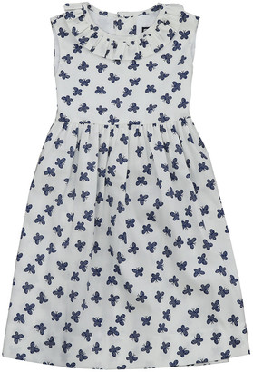 Busy Bees Lizzy Ruffle Neck Dress