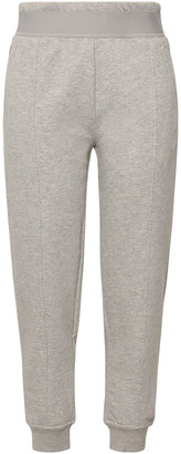 adidas by Stella McCartney Melange French Cotton-blend Terry Track Pants