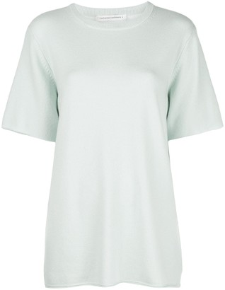 Extreme Cashmere short sleeved knit top