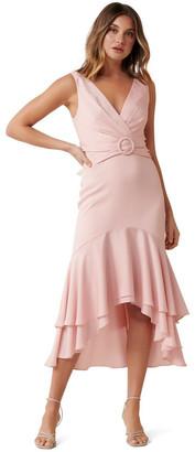 Forever New Sienna Buckle Midi Dress