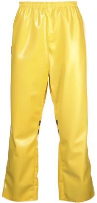 Arthur Avellano latex track pants