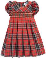 Luli & Me Infant Girl's Plaid Pleated Dress