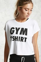 Forever 21 Active Gym T-Shirt Graphic Top