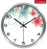 BABYQUEEN Garden European Wall Clock Living Room Decoration Clock Fashion Creative Mute