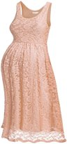 HOTOUCH Women's Maternity Knee Length Sleeveless Sexy Lace Dress