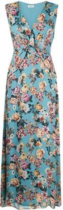 Liu Jo Floral Print Long Dress
