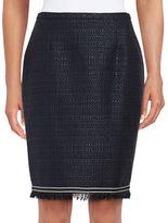 Tommy Hilfiger Tweed Pencil Skirt