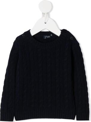 Il Gufo Long Sleeve Chunky Knit Jumper