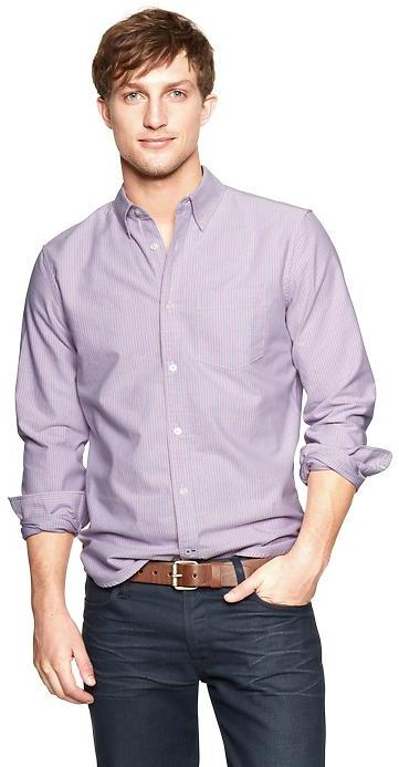 Gap Modern bengal striped oxford shirt