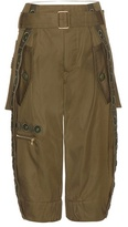 Marc Jacobs Embellished Wool Cargo Trousers