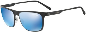 Arnette Men's 0AN3076 501/55 56 Sunglasses