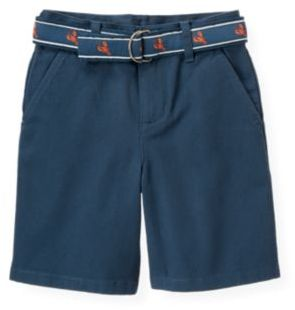 Janie and Jack Lobster Belted Short