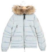 Parajumpers Girls' Fur-Trimmed Down Coat